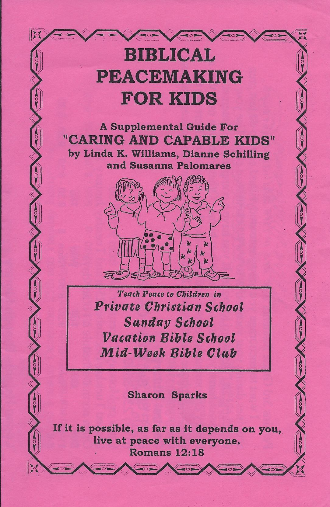 Caring  Capable Kids - Biblical