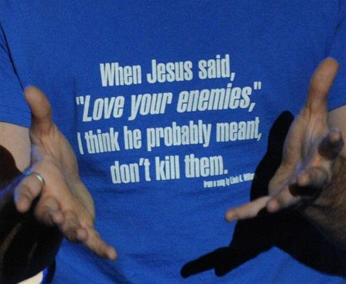 When Jesus - shirt